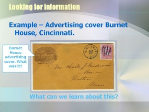 advertising cover from burnet house