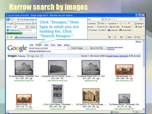 searching for images
