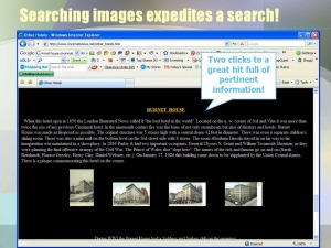 searching images